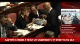 Salvini: chiedo a Renzi un confronto in diretta su Sky
