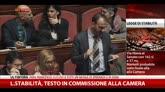 Legge di Stabilità, testo in Commissione alla Camera