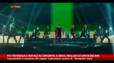 Psy festeggia Natale in concerto, a Seoul i fan in delirio