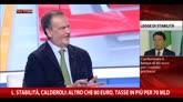 Calderoli: altro che 80 euro, tasse in più per 70 mld