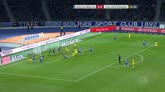 Hertha Berlino-Hoffenheim 0-5