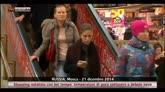 Mosca: shopping natalizio con temperature appena sottozero