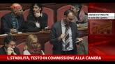 Legge stabilità, testo in commissione alla Camera