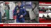 Napolitano commosso saluta Samantha Cristoforetti