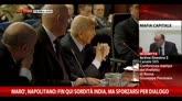 Marò, Napolitano: fin qui sordità India, sforzo per dialogo