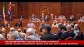 Abolizione province, a Milano va in scena la protesta