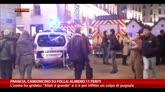 Francia, camioncino su folla: almeno 11 feriti