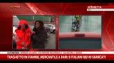 29/12/2014 - Sbarcati i naufraghi a Bari, le parole del medico