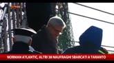 31/12/2014 - Norman Atlantic, altri 38 naufraghi sbarcato a Taranto