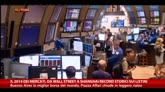31/12/2014 - Mercati 2014, da Wall Street a Shangai record storici