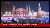 31/12/2014 - Mosca, il blogger Navalny viola i domiciliari: arrestati