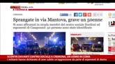 19/01/2015 - Scontri davanti centro sociale a Cremona, un uomo in coma