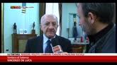 22/01/2015 - Condanna sindaco Salerno, De Luca: sconcertato e indignato