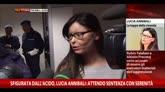 23/01/2015 - Sfigurata da acido, Annibali: attendo sentenza con serenità