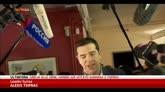 """25/01/2015 - Grecia, Tsipras: """"Si decide tra ritorno a Troika e dignità"""""""