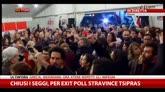 25/01/2015 - Exit poll: Tsipras 35,5-39,5%. Syriza: manterremo promesse