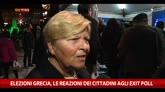 25/01/2015 - Elezioni Grecia, le reazioni dei cittadini agli exit poll