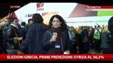 25/01/2015 - Elezioni Grecia, prime proiezioni: Syriza al 36,5%