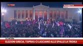 25/01/2015 - Elezioni Grecia, Tsipras: ci lasciamo alle spalle la Troika