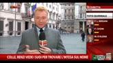 Colle, Renzi vede i suoi per trovare l'intesa sul nome