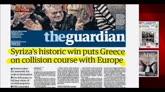 26/01/2015 - Grecia, la vittoria di Tsipras sui quotidiani esteri