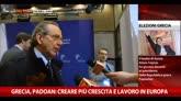26/01/2015 - Grecia, Padoan: creare più crescita e lavoro in Europa
