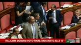 26/01/2015 - Italicum, domani voto finale in Senato