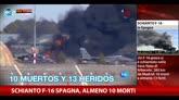26/01/2015 - Schianto F16 Spagna, almeno 10 morti