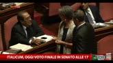 Italicum, oggi voto finale in Senato fino alle 17