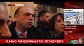 27/01/2015 - Alfano: per Quirinale politico esperto