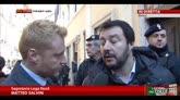 Salvini: vergognosa occupazione potere Renzi