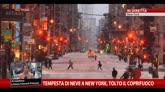 27/01/2015 - Tempesta di neve a New York, tolto il coprifuoco
