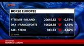 27/01/2015 - Borse europee in rosso, ancora male Atene