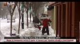 28/01/2015 - New York, dopo la tempesta si lavora per ripulire le strade