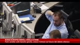 28/01/2015 - Borse europee deboli, crolla Atene