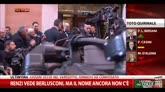 Renzi vede Berlusconi, ma il nome ancora non c'è