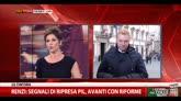 29/01/2015 - Quirinale, Renzi incontra Vendola a Palazzo Chigi