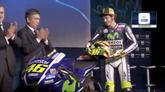 29/01/2015 - Rossi, la nuova Yamaha M1 per tornare a sognare