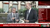 Vendola: non temo agguati, domani Mattarella verrà eletto