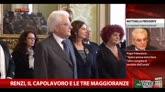 Renzi, il capolavoro e le tre maggioranze