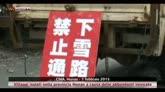Cina, villaggi isolati nello Hunan per neve e ghiaccio