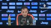 """Juve, Allegri: """"Attenzione, è sempre il Milan"""""""