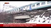16/02/2015 - Treno regionale esce dai binari nel reggiano, 5 contusi