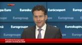 Dijsselbloem: proroga ok ma Grecia rispetti accordi bilancio