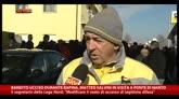 Bandito ucciso durante rapina, Salvini in a Ponte di Nanto