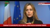16/02/2015 - Dijsselbloem: Grecia decida cosa fare entro venerdì