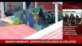 Sbarchi migranti, centri d'accoglienza al collasso
