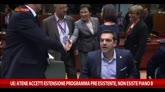 UE: Atene accetti estensione programma pre esistente