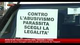 Rivolta dei tassisti contro Uber, tensione a Torino