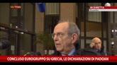 "Eurogruppo, Padoan: ""Passo avanti per l'Europa"""